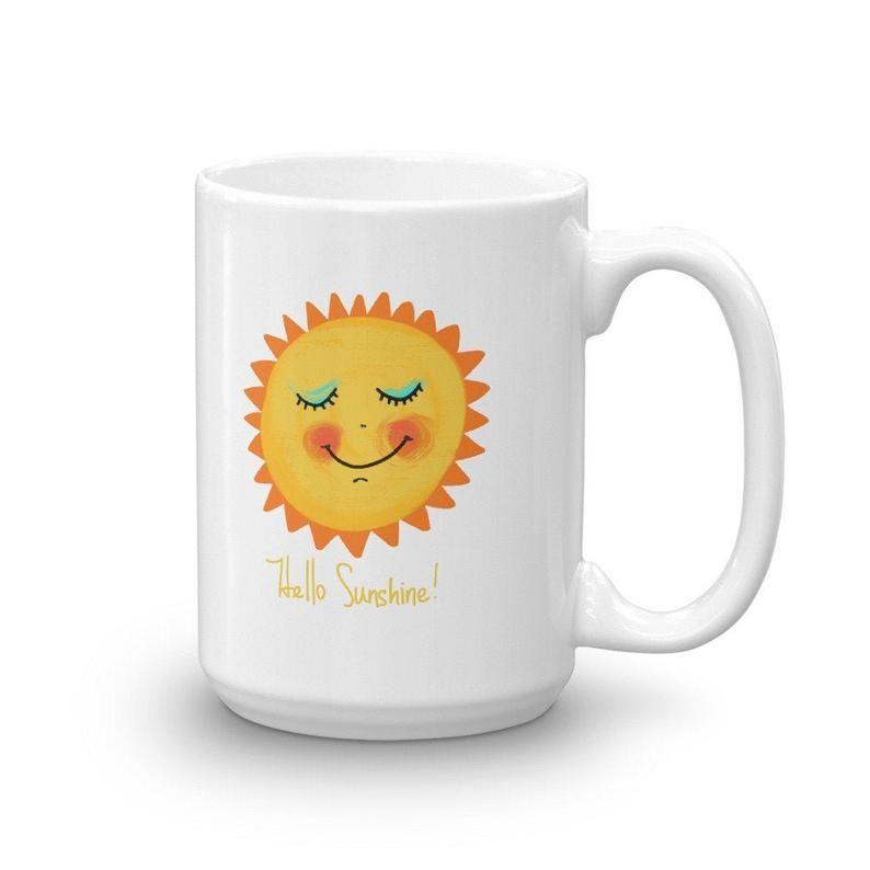 Mug 11 oz Ceramic Mug CafePress Good Morning Sunshine 594393237